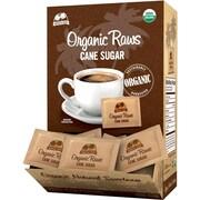 Organic Raws Turbinado Cane Sugar, 200 Packets/Box