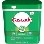 Cascade® ActionPacs™ Dishwasher Detergent, Fresh Scent, 85/Pack