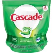 Cascade® ActionPacs™ Dishwasher Detergent, Fresh Scent, 32/Pack
