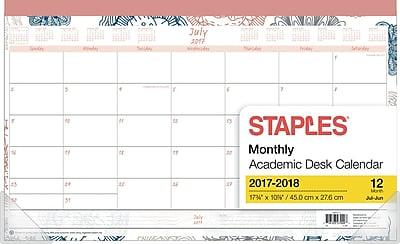 2017-2018 Staples® 17 3/4