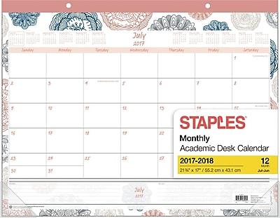2017-2018 Staples® 21 3/4