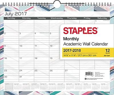2017-2018 Staples® 14 7/8