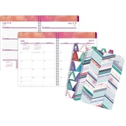 "2017-2018 Staples® 8"" x 11"" Large Academic Weekly/Monthly Planner,14 Months (27106-17)"