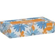 Kleenex® Flat Box Facial Tissues, 2-Ply, White, 125/Bx