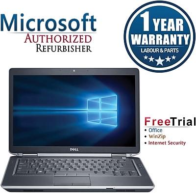Refurbished Dell Latitude E6430 14in Notebook Intel Core i5 2.6Ghz 8GB RAM 250GB SSD Windows 10 Pro