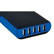 Staples 5-Port USB Charging Station, Black