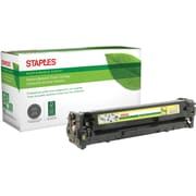 Staples® Remanufactured Color Laser Toner Cartridge, Canon 131 (6269B001AA), Yello
