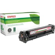 Staples® Remanufactured Color Laser Toner Cartridge, Canon 131 (6270B001AA), Magenta