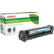 Staples® Remanufactured Color Laser Toner Cartridge, Canon 131 (6271B001AA), Cyan
