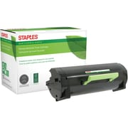 Staples® Remanufactured Laser Toner Cartridge, Lexmark MX510 (60F0XA0/60F1X00), Black, Extra High Yield