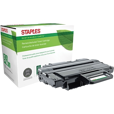 Sustainable Earth by Staples® Reman Laser Toner Cartridge, Xerox Phaser 3250, Black, High Yield