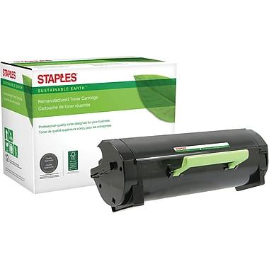 Staples® Remanufactured Laser MICR Toner Cartridge, Lexmark MS510, Black, Ultra High Yield