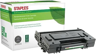Staples® Remanufactured Laser Toner Cartridge, Panasonic UG5570, Black