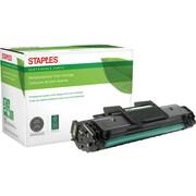 Staples® Remanufactured Laser Toner Cartridge, Samsung MLT-D108, Black