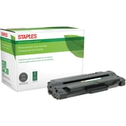 Staples® Remanufactured Laser Toner Cartridge, Samsung MLT-D105 (MLT-D105L/MLT-D105S), Black, High Yield