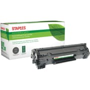 Staples® Remanufactured Laser Toner Cartridge, Canon 137 (9435B001AA), Black