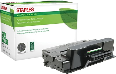 Staples® Remanufactured Laser Toner Cartridge, Xerox Phaser 3320 (106R02307), Black, High Yield