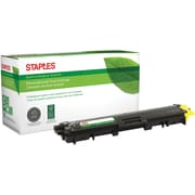 Staples® Remanufactured Laser Toner Cartridge, Brother TN221 (TN221Y), Yellow