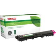 Staples® Remanufactured Laser Toner Cartridge, Brother TN221 (TN221M), Magenta