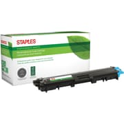 Staples® Remanufactured Laser Toner Cartridge, Brother TN221 (TN221C), Cyan