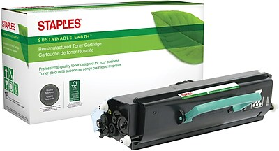 Staples® Remanufactured Black Toner Cartridge, Dell 1720 (310-8709, PY449), High Yield