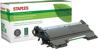 Staples® Remanufactured Laser Toner Cartridge, Brother TN420 (TN-420), Black