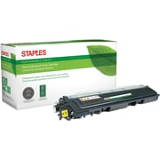 Staples® Remanufactured Color Laser Toner Cartridge, Brother TN210 (TN-210Y), Yellow