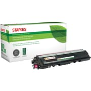 Staples® Sustainable Earth Reman Magenta Toner Cartridge, Brother TN210M (SEBTN210MR)