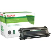 Staples® Remanufactured Color Laser Toner Cartridge, Brother TN110 (TN-110Black), Black