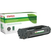 Staples® Remanufactured Laser Toner Cartridge, HP 92A (C4092A), Black