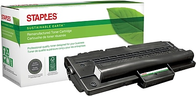 Staples® Remanufactured Laser Toner Cartridge, Samsung ML-1710 (ML-1710D3/SCX-4216D3), Black
