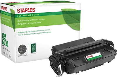 Staples® Remanufactured Toner Cartridge, HP 96A (SEB96AR), Black