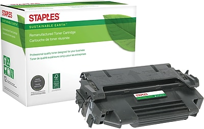 Staples® Remanufactured Laser Toner Cartridge, HP 98A (92298A), Black