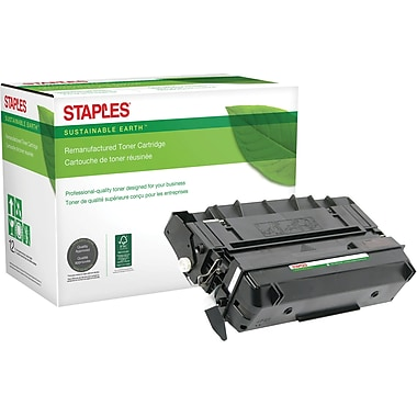 Staples Sustainable Earth Reman Black Toner Cartridge, Pitney Bowes 9900 (SEB99000R)