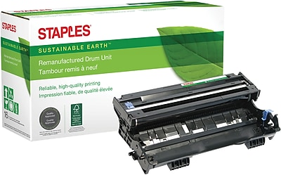 Staples® Remanufactured Laser Drum Unit, Brother DR400 (DR-400), Black