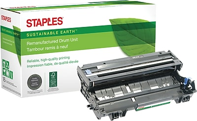 Staples® Remanufactured Laser Drum Unit, Brother DR510 (DR-510), Black