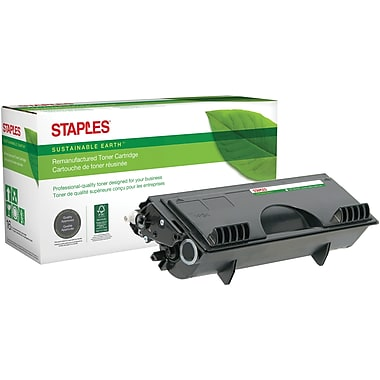 Staples® Sustainable Earth - Cartouche de toner noir, remise à neuf, compatible Brother TN-430 (SEB430R)