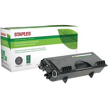 Sustainable Earth by Staples Remanufactured Black Toner Cartridge, Brother TN-460, High Yield