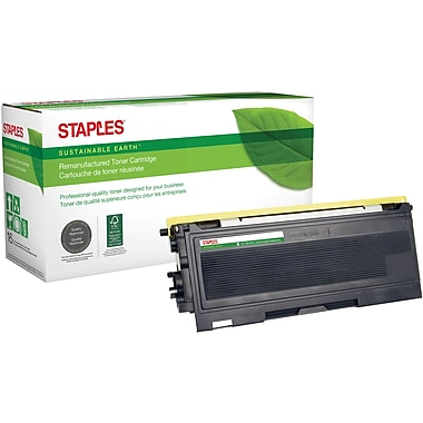 Staples® Sustainable Earth - Cartouche de toner noir, remise à neuf, compatible Brother TN-350 (SEBTN350R)