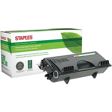 Staples® Sustainable Earth Reman Black Toner Cartridge, Brother TN-530 (SEBTN530R)