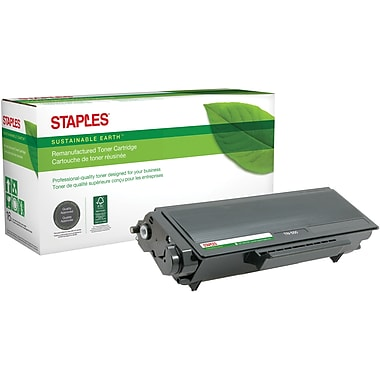 Staples® Sustainable Earth - Cartouche de toner noir, remise à neuf, compatible Brother TN-550 (SEBTN550R)