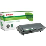 Staples® Remanufactured Laser Toner Cartridge, Brother TN550 (TN-550), Black