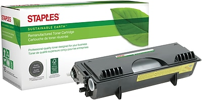 Staples® Remanufactured Laser Toner Cartridge, Brother TN560, Black, High Yield