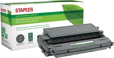 Staples® Remanufactured Laser Toner Cartridge, Canon E20 (1492A002AA), Black