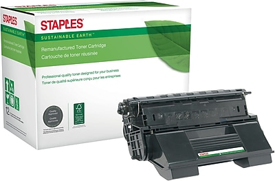 Staples® Remanufactured Toner Cartridge, Xerox ( 113R00656/113R00657)(SEBX657R), High Yield, Black