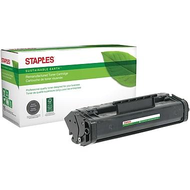 Staples® Sustainable Earth Reman Black Toner Cartridge, Canon FX-3 (SEBFX3R)