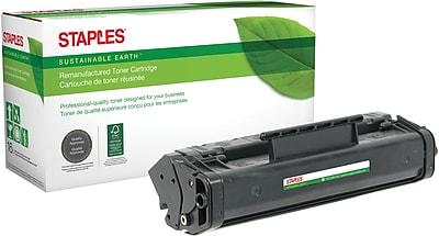 Staples® Remanufactured Laser Toner Cartridge, Canon FX3 (1557A002BA), Black