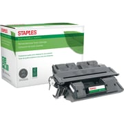 Staples® Reman Laser Toner Cartridge, Canon FX6 (1559A002AA), Black