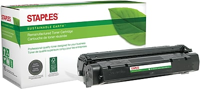 Staples Remanufactured Black Toner Cartridge, Canon FX-8 (8955A001A)