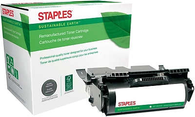 Staples® Remanufactured Black Toner Cartridge, IBM InfoPrint (75P6959, 75P6961), High Yield